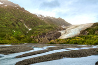 Exit Glacier - Kenai Mountains, Alaska (Near Seward)