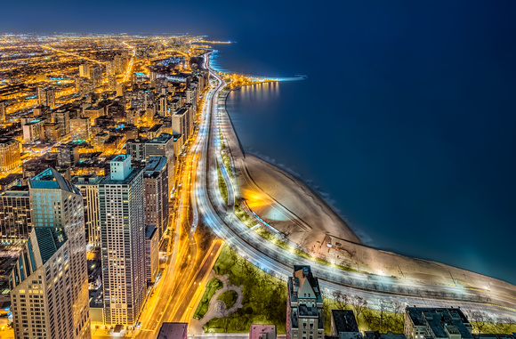 Lake Shore Drive Blue Revisited
