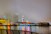 03/03 - San Francisco Foggy Night Panorama from Pier 14 - 03 RIGHT