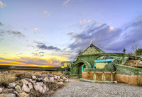 Earthship (Phoenix) - North-West of Taos, New Mexico
