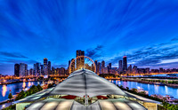 Navy Pier Blue Hour Panorama - Chicago