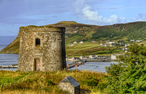 Round Tower of Uig - Isle of Skye, Scotland