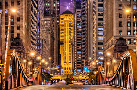 The Chicago Board of Trade at Night Revisited