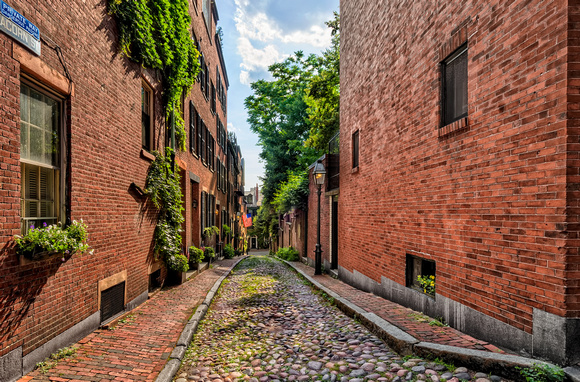Acorn Street:  The Most Photographed Street in Boston