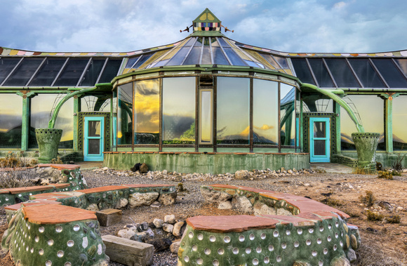 Earthship View 02 - New Mexico