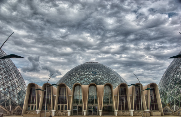 Mitchell Park Conservatory Domes -  Milwaukee