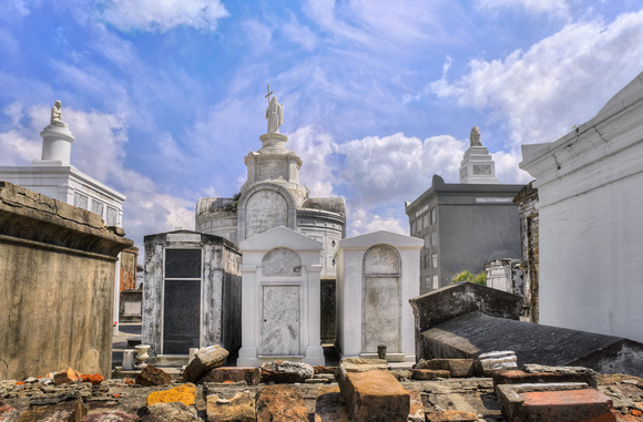 New Orleans:  Saint  Louis Cemetery Number 1