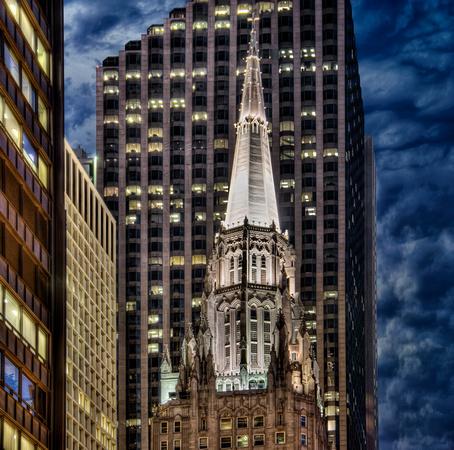 Image result for church in a skyscraper