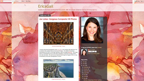 Blog Article by Erica Gail, ASID
