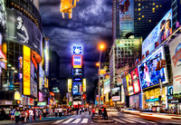 A Night in Times Square - Manhattan