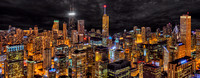 Northeast Aerial Panorama - Chicago Beacon